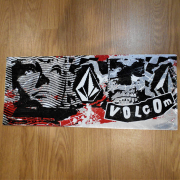 Volcom Vintage Metal Sign POP