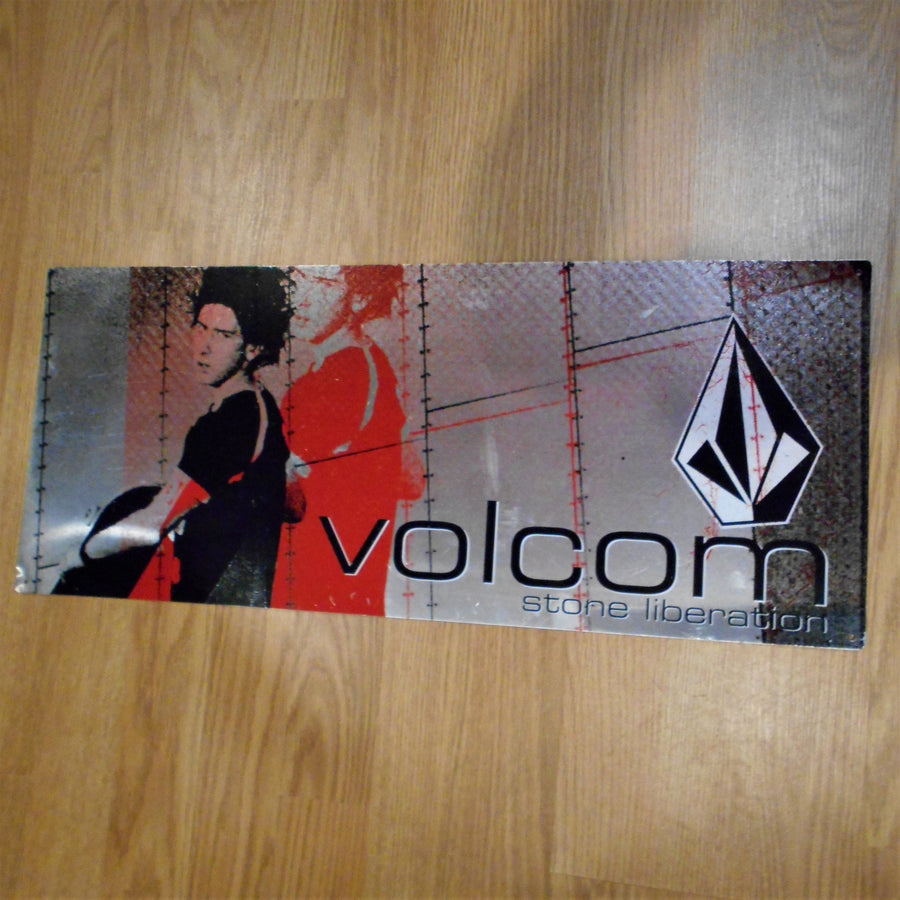 Volcom Clothing Vintage Metal Sign POP