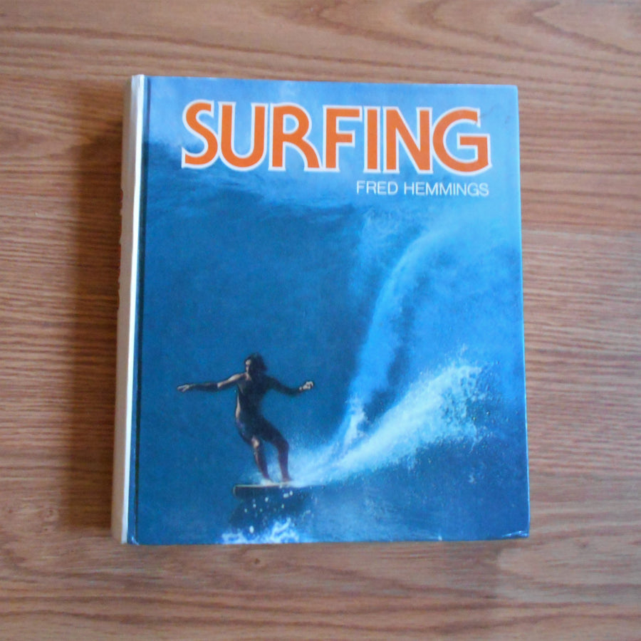 Surfing by Fred Hemmings Hardcover Vintage Book