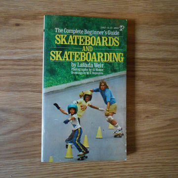Vintage paperback 1977 Skateboards and Skateboarding