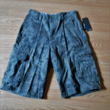 Hurley Avalon 2 Youth Vintage Cargo Pocket Camo Shorts!