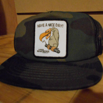 Loser Machine Have A Nice Day Camo Hat