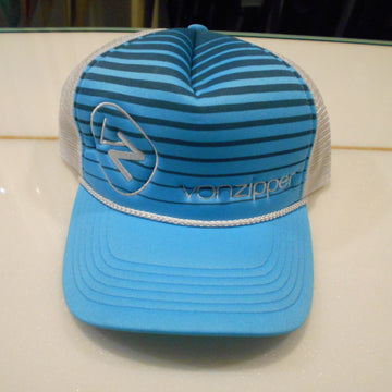 Von Zipper Foam Trucker Hat Sky Blue
