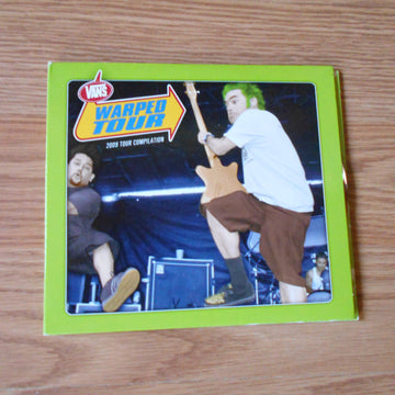 Vans Warp Tour 2009 2-Disc CD Set