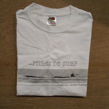 Miles To Surf Documentary Vintage Tee