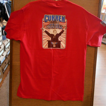 Curren for President Vintage Tee
