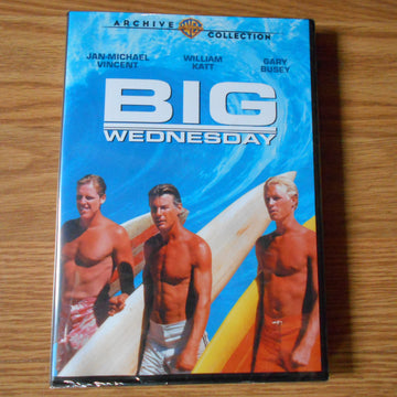 Big Wednesday Hollywood Vintage Surf Film DVD