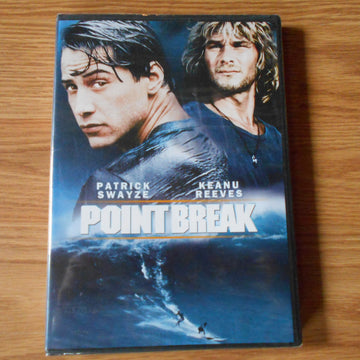 Point Break Starring Patrick Swayze & Keanu Reeves
