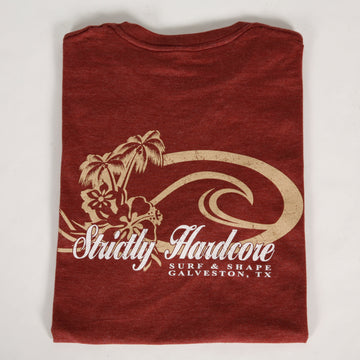 Strictly Hardcore Wave Palms Premium Tee