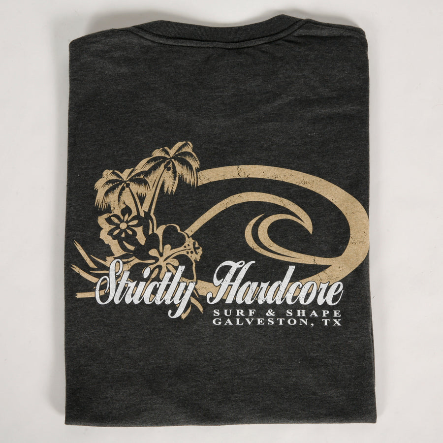 Strictly Hardcore Surf Wave Palms Tee