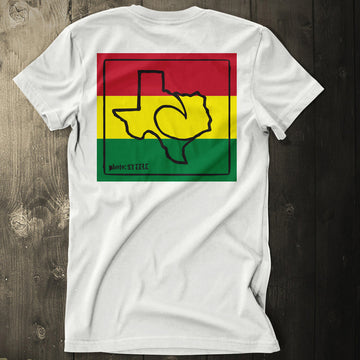 Aloha Y'all Texas Rasta Tee