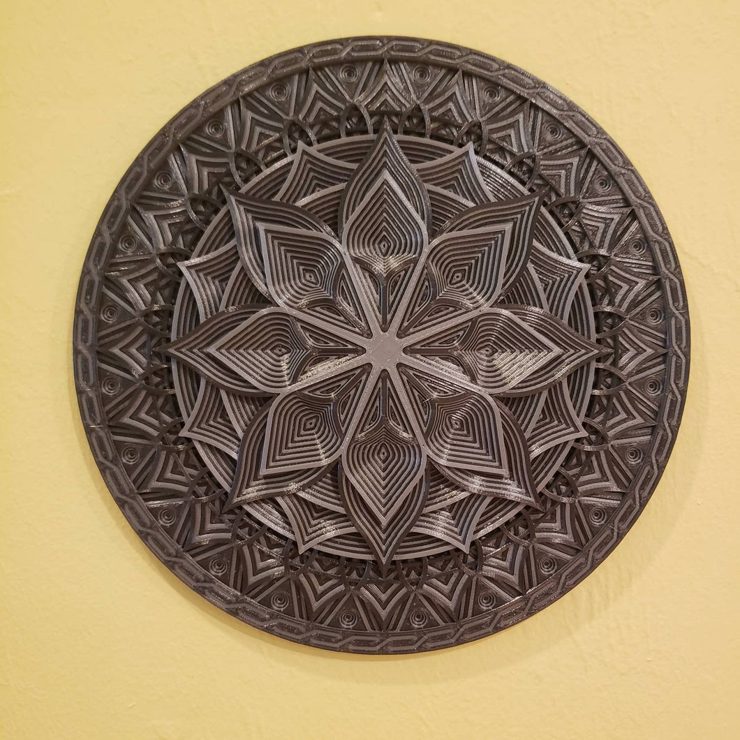 Round Mandala Wall Decor