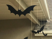 Load image into Gallery viewer, Decorative Hanging Halloween Bats