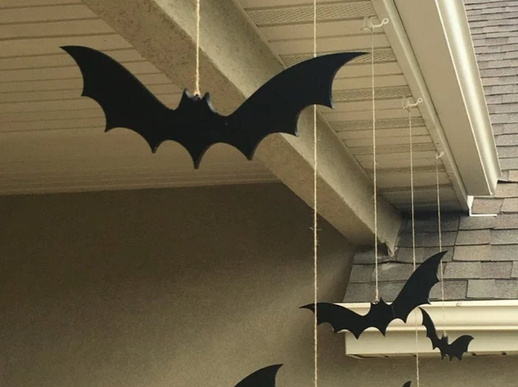 Decorative Hanging Halloween Bats