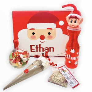 Personalised Red Santa Box
