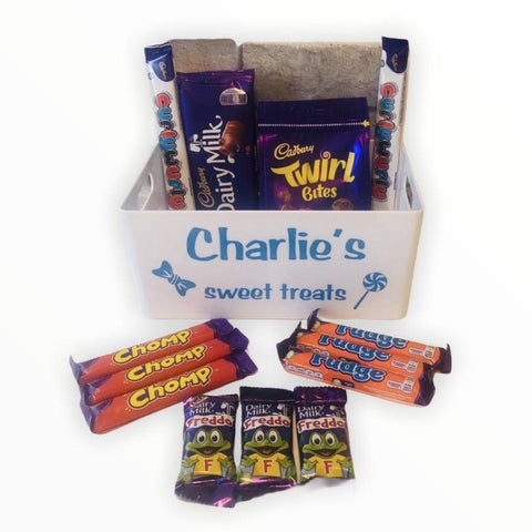 Chocolate  Hamper with Personalised Tray