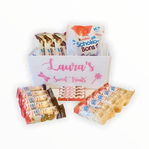 Kinder Chocolate Hamper with Personalised Tray