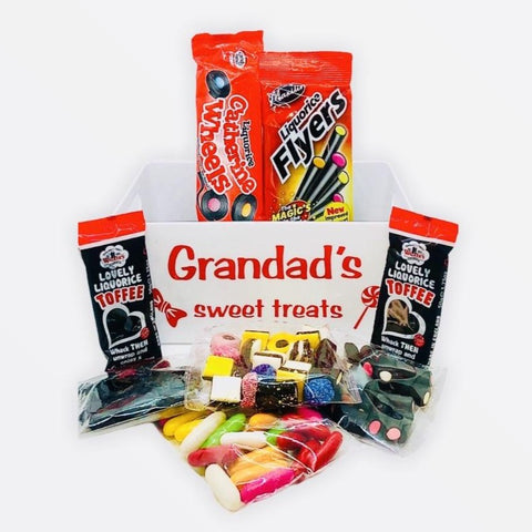Liquorice Hamper with Personalised Tray