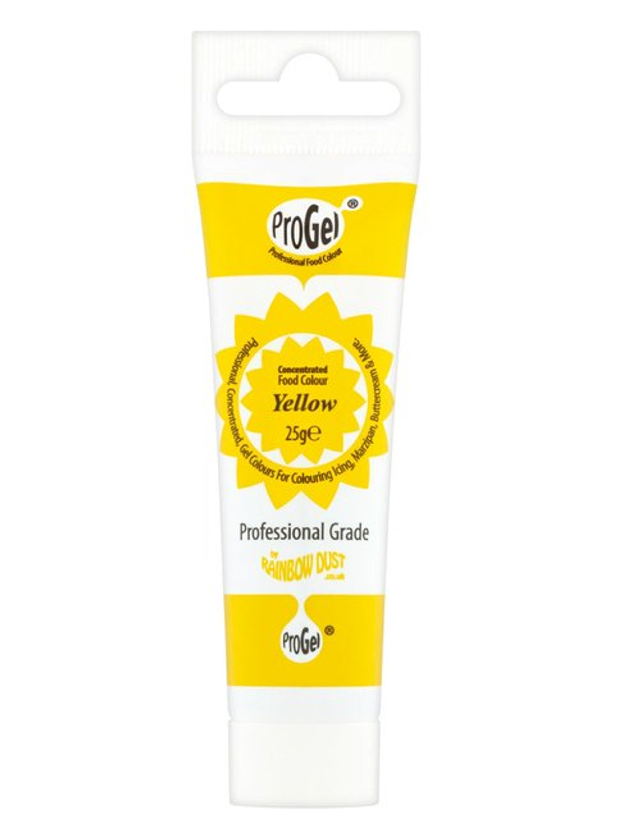 Corante em Gel ProGel 25g - Yellow