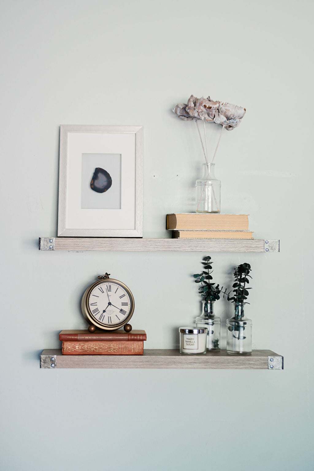 Create a Gallery Wall with Your Shelves