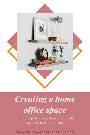How To Create A Work From Home Office Space
