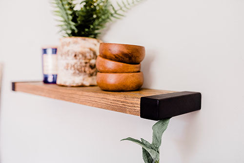 How To Decorate Any Floating Shelf