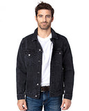 DESIGN DEPOSIT for 1 Custom UNISEX BLACK Denim Jacket