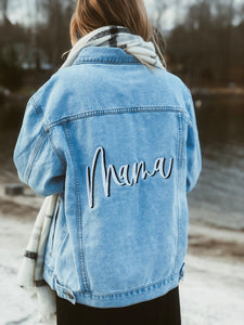 Mama Relaxed Fit Jacket