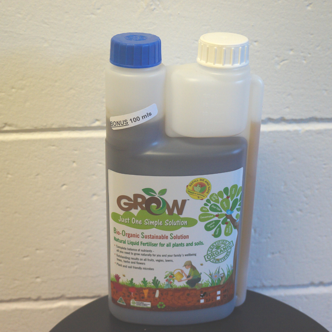 Grow -Organic Fertilizer - Grow Indoor Plants
