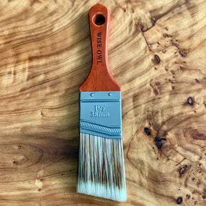 "Wise Owl Premium Paint Brushes - 1.5"" Micro Brush - A Cubed Art"