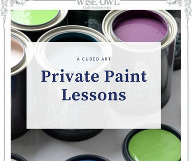 Private Paint Class - A Cubed Art