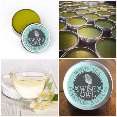 Wise Owl Furniture Salve - White Tea - A Cubed Art