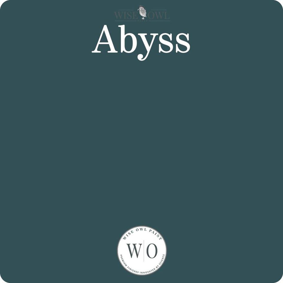 Wise Owl Chalk Synthesis Paint - Abyss - A Cubed Art