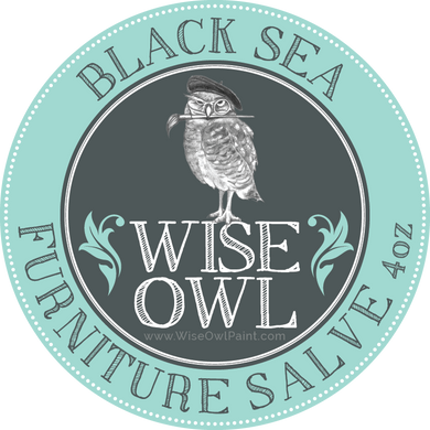 Wise Owl Furniture Salve - Black Sea - A Cubed Art