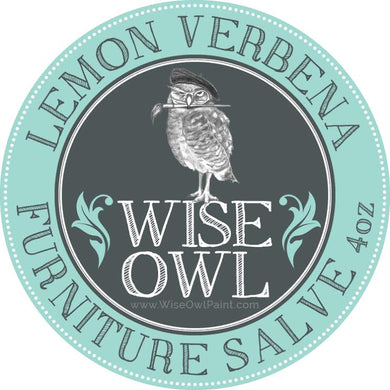 Wise Owl Furniture Salve - Lemon Verbena - A Cubed Art