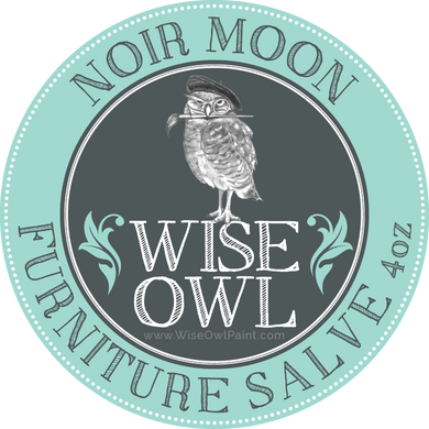 Wise Owl Furniture Salve - Noir Moon - A Cubed Art