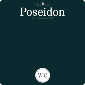 Wise Owl Chalk Synthesis Paint - Poseidon - A Cubed Art