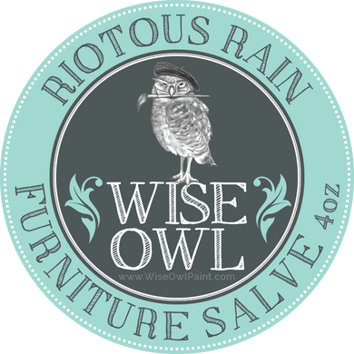 Wise Owl Furniture Salve - Riotous Rain - A Cubed Art