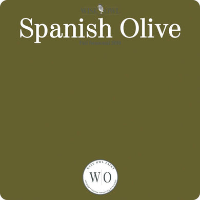 Wise Owl Chalk Synthesis Paint - Spanish Olive - A Cubed Art