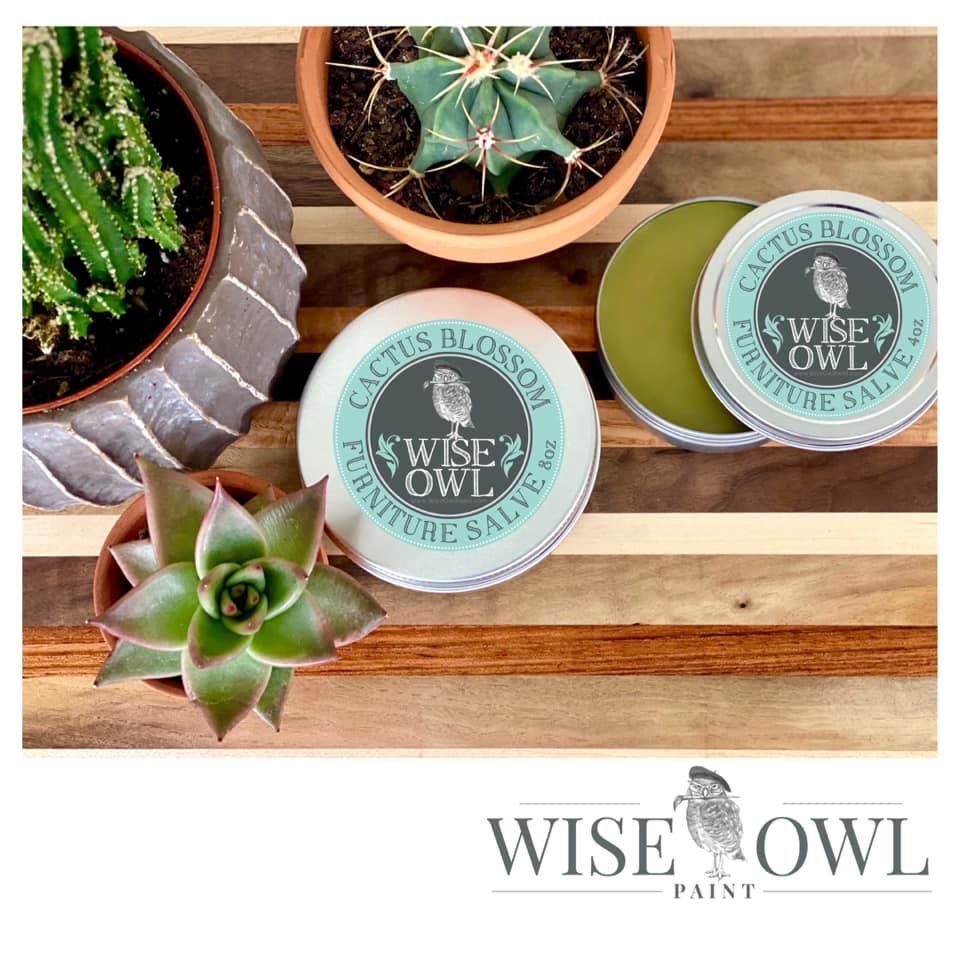 Wise Owl Furniture Salve - Cactus Blossom - A Cubed Art