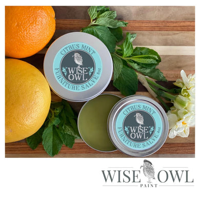 Wise Owl Furniture Salve - Citrus Mint - A Cubed Art