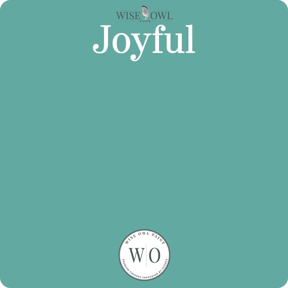 Wise Owl Chalk Synthesis Paint - Joyful - A Cubed Art