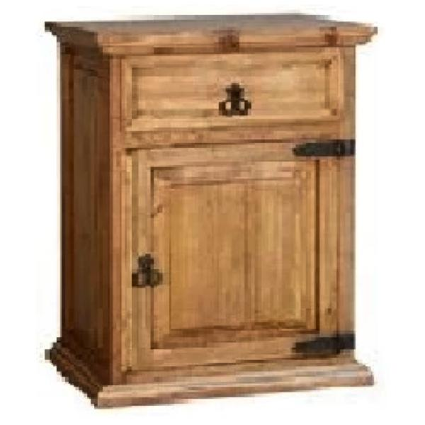 1 Door Nightstand