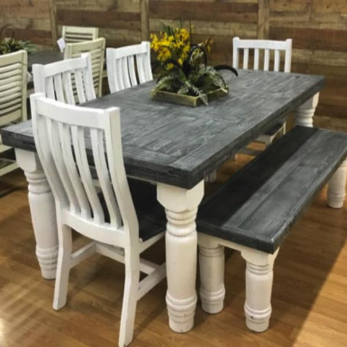 6' Slate Table Set