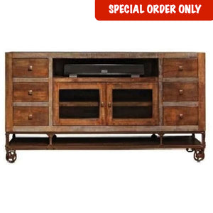 "76"" Urban Gold TV Stand"