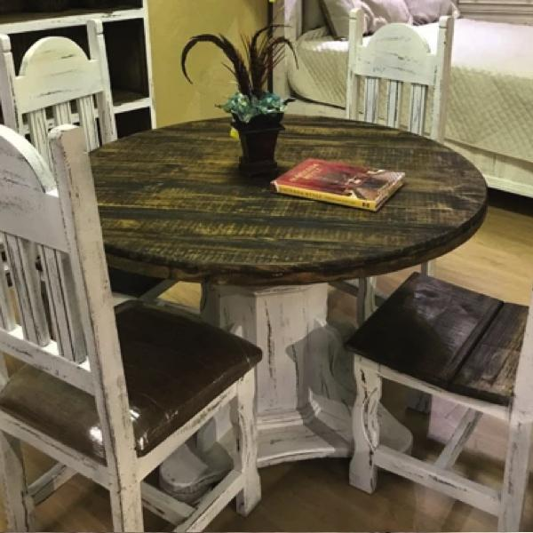 Gatlinburg Round Dining Set