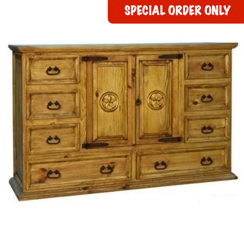 Large Star Mansion Dresser