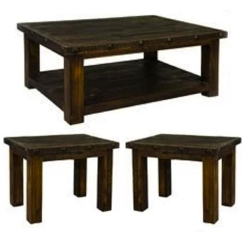 Ponderosa Coffee Table Set