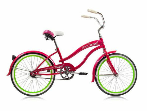 "Micargi 20"" Girls Famous Beach Cruiser Bike"
