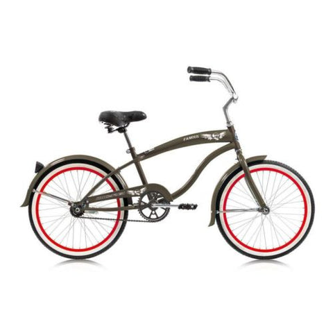 "Micargi 20"" Famous Boys Beach Cruiser Bike"